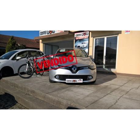 Renault Clio IV Cinza 2013